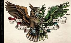 Zombie Owl Tattoo by Sam-Phillips-NZ on DeviantArt Memento Vivere, Owl Tattoo Design, Tattoo Designs, Tatuajes New School, Gypsy Girl Tattoos, Victory Tattoo, Eagle Chest Tattoo, Valkyrie Tattoo, Mini Mundo