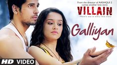 Watch this mystical number in the melodious voice of Ankit Tiwari from Ek Villain starring Sidharth Malhotra and Shraddha Kapoor. It is directed by Mohit Suri. You would surely fall in love with this one. Don't forget to like it!!   Song: GALLIYAN Singer: ANKIT TIWARI Lyrics: MANOJ MUNTASHIR Music: ANKIT TIWARI Mixed and Mastered by Eric Pillai( Future Sound Of Bombay) Music Label: T-Series