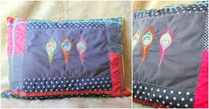 """""""Patch-mit-Liebe"""" pillow, a free farbenmix.de pattern with photo tutorial"""