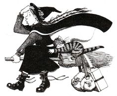 I want to be Mildred Hubble. The worst witch
