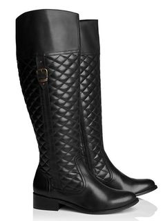 Wide-Calf Boots That Really Fit (& Look So Cool!)+#refinery29