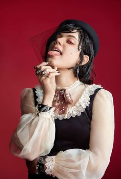 Soko / Dazed Magazine 2016