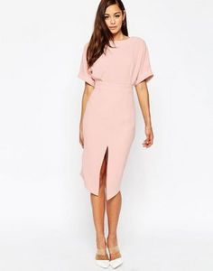 ASOS Wiggle Dress with Split Front