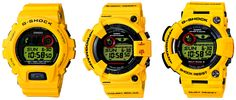 G-Shock 30th Anniversary Limited Edition Lightning Yellow Watches