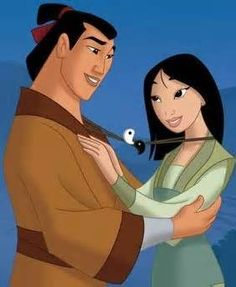 *LI SHANG & MULAN ~ Mulan, 1998