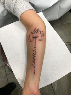 Nature forearm Tattoos for Men . Nature forearm Tattoos for Men . Pin On You Just Made Me Ink Forearm Tattoos, Body Art Tattoos, Small Tattoos, Tattoos For Guys, Tatoos, Flower Tattoos With Names, Tattoo Flowers, Lotus Flower Tattoos, Moving On Tattoos