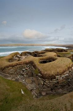 The Neolithic settlement of Skara Brae is one of the best preserved groups of  prehistoric houses in Western Europe.