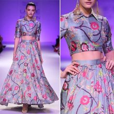 #NowTrending Florals  Ace the trend with our edit of lehengas sarees suits and tops. Shop on exclusively.com  #trends #fashion #fashiontrends #exclusively #nowtrending #ontrend #floral #lehenga #skirt #croptop #saree #salwar #exclusively #onlineshopping #