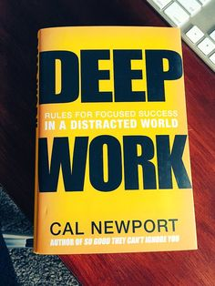"Hitherto, knowledge workers have largely suffered in silence or grumbled in private because their chances of promotion have come to be influenced by their willingness to collaborate. But a backlash is setting in: the current Harvard Business Review (HBR) has a cover story on ""collaborative overload""; and Cal Newport of Georgetown University has just brought out a book called ""Deep Work: Rules for Focused Success in a Distracted World""."
