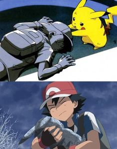 It happened to both of them. Was thinking this exact thing when I watched the Diancie Movie