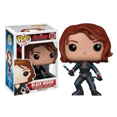 Black Widow Avengers Age Of Ultron Pop Heroes Vinyl Figure