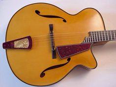 J.R.Zeidler Archtop Acoustic Guitars