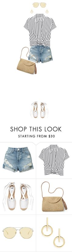 """""""Untitled #208"""" by smileyface2299 ❤ liked on Polyvore featuring 3x1, T By Alexander Wang, Mar y Sol, Gentle Monster and Sole Society"""