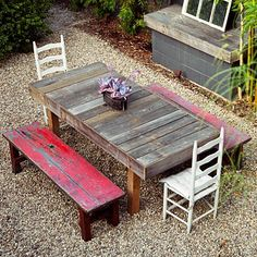 outdoor furniture ----- I may be addicted to pinterest as I feel compelled to keep pinning these great finds. ---------- If you like my pins, follow me and go check out an amazing site called http://www.PlusGigs.com ---- The Social Networking Market Hotspot!