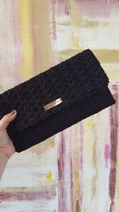 Crochet Backpack Pattern, Crochet Clutch Bags, Crochet Wallet, Free Crochet Bag, Crochet Purse Patterns, Crochet Handbags, Crochet Purses, Crochet Patterns Amigurumi, Crochet Bags