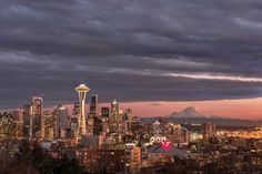 Stormy Sky - Seattle by Gabriela Fulcher Photography