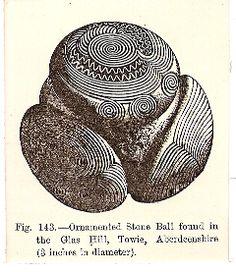 Scottish Neolithic carved stone balls #01