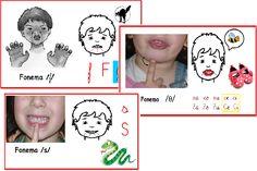 Discriminación de los fonemas /f-s-z/