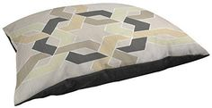 Thumbprintz Indoor/Outdoor Large Breed Pet Bed, Non Embellished Deco Stitch, Multi Colored -- Read more reviews of the product by visiting the link on the image.