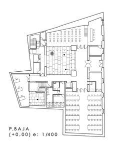 Architecture Plan, Interior Architecture, Interior Design, Library Floor Plan, Floor Plans, How To Plan, Sims 4, Restaurants, Library Design