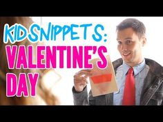 New Kid Snippets videos every MONDAY.  If movies were written by our children...  We asked a couple kids to pretend to exchange Valentine's cards. This is what they came up with.      Produced by Bored Shorts TV  Filmed and Edited by Houston Holbrook  Additional editing by Ryan Haldeman  Starring:  Randy Roberts  Kristina Roberts  Editing Consultants:  Ry...