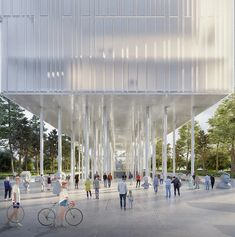 cosmos architecture proposes cultural complex in bosnia and herzegovina Architecture Magazines, Urban Architecture, Creative Inspiration, Design Inspiration, Banja Luka, Bosnia And Herzegovina, Cosmos, Street View, Culture