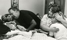 David Kirby on his deathbed, because of AIDS, Ohio, 1990.  http://life.time.com/history/behind-the-picture-the-photo-that-changed-the-face-of-aids/#1