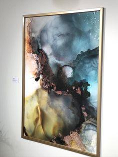 Alcohol Ink Painting, Alcohol Ink Art, Resin Art, Mixed Media Art, Art Inspo, Canvas Art, Presents, Magic, Illustrations