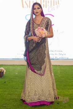 Purple and Olive Bridal Lengha RDC-INDIAN-PAKISTANI-WEDDING-FASHION