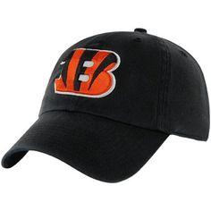 '47 Brand Cincinnati Bengals Cleanup Adjustable Hat - Black