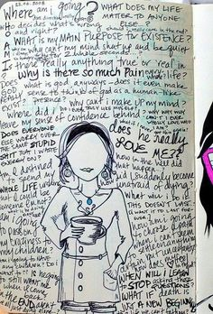 journal page by Mackenzie / nice signs - Juxtapost