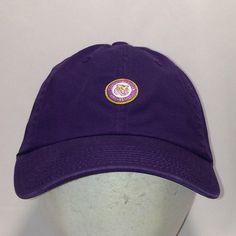 e539720f8c5 Vintage LSU Tigers Hat Purple American Needle Strapback Baseball Cap NCAA  College Dad Hat Gifts T14 JL8061