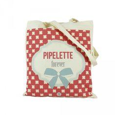 Tote bag Pipelette Dodo&Cath - Deco Graphic