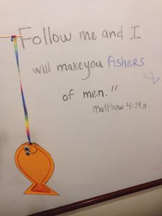 Fishers Of Men (Kids Bible Lesson+ Easy Craft!)