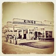 Kings Gas Station.... still full service! Gonzales, Texas