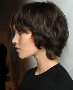 Short Layered Thick Hairstyles 2015