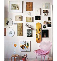Casas de Alice: Arte nas paredes