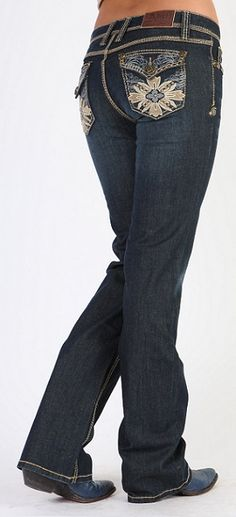 "Love these pockets. NEW ""Adiktd"" Praire Dancer Jean"
