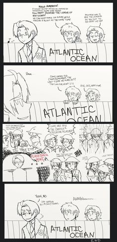 A Ridiculously Simplified Hetalia History Lesson (American isolationism after WWI) by ExclusivelyHetalia on deviantART- LOl