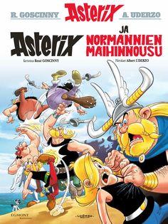 Normannit naurattavat juuri nyt lehtipisteissä ja kirjakaupoissa! #Asterix #sarjisparhaus