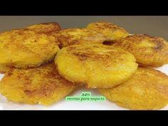 TORTITAS DE PLATANO MACHO DULCES CON QUESO - YouTube Healthy Foods To Eat, Healthy Snacks, Healthy Recipes, Puerto Rican Recipes, Latin Food, Paleo Diet, Deli, Snack Recipes, Deserts