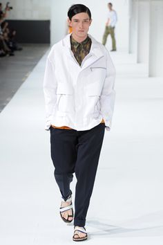 Dries Van Noten Spring 2013 Menswear Collection on Style.com: Runway Review