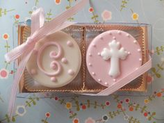 Christening Baptism First Communion 12 by NYCookiesByVictoria