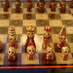 Juegos de Ajedrez hechos a mano