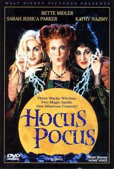 Film hocus pocus nous adorons ce film. C'est devenu un rituel de le regarder à la période d' Halloween