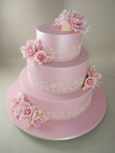 http://www.planetcake.com.au/PLCstores/FLEX1/121/ATTRFILE_File2/3T-Pink-pearlised-with-pink-roses-ivory-piping-LARGE.jpg shimmery pink wedding cake