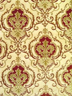 """Dayle 21-001, Fortino 18"""" Border 20-059 Dayle Ceiling 21-042A Victorian Wallpaper"""
