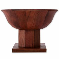 Michael Graves Design Wood Bowl with Pedestal - jcpenney