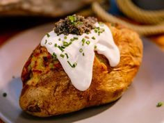 Get Crab and Caviar Twice-Baked Potatoes Recipe from Food Network network holiday baking championship recipe Crab and Caviar Twice-Baked Potatoes Couscous, Food Network Recipes, Cooking Recipes, Kitchen Recipes, Easy Recipes, The Kitchen Food Network, Katie Lee, Baked Potato Recipes, Twice Baked Potatoes