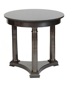 Ceasar Accent Table, Brass Finish obeliskhome.com